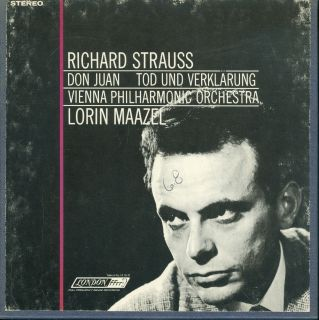 Reel to Reel Tape Strauss Don Juan Tod Und Verklarung 7½