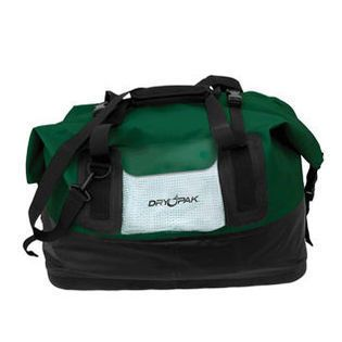Kwik Tek DP D1GR Large Dry Pak Waterproof Duffel Bag   Green