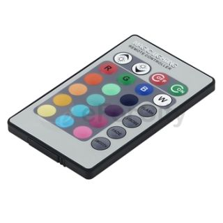 3W E27 16 Color LED RGB Magic Light Bulb w Wireless Remote Control US