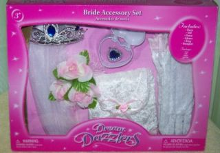 dream dazzlers bride accessory set new