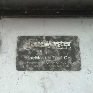 Tape Master 8 Drywall Flat Box for Repair Parts