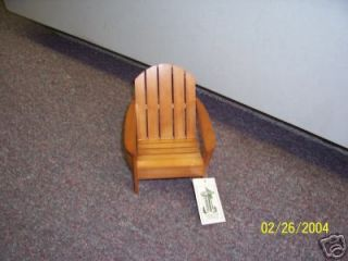 Dennis East Collection Miniature Furniture Dock Chair
