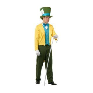 Alice Wonderland Yellow Dress Up Halloween Dlx Adult Costume