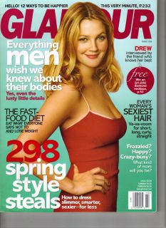 Drew Barrymore Glamour Magazine 3 04 Curves