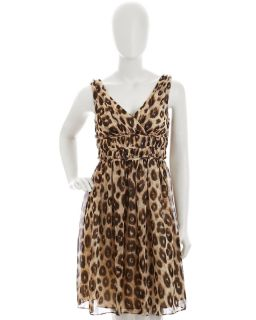 Donna Morgan Leopard Print Dress