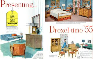 Drexel Furniture Profile New Todays Living Circle D Biscayne 6 PG