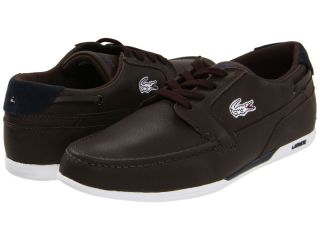 Lacoste Dreyfus MB Mens Sport Casual Leather Boat Driving Shoes US10