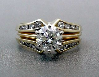 03CT Round Brilliant GIA CERTIFIED Diamond Engagement Wedding Ring