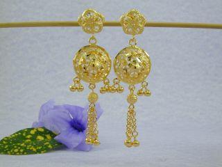 GORGEOUS DUBAI EAST INDIA 22K 24K Gold gp Earrings Necklace SET