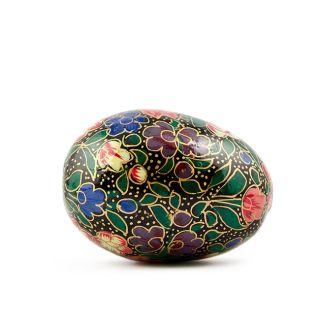 Milia Wooden Easter Egg Hand Painted Easter Egg