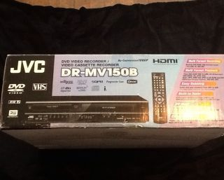 JVC Refurbished JVC DVD/VHS Combo Recorder With Up-Conversion And ATSC Tuner at Sears.com