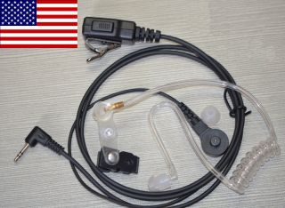 Covert Headset Earpiece Motorola Walkie Talkie 1 Pin