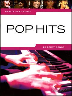 Really Easy Piano Pop Hits Sheet Music Book