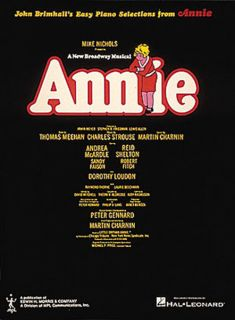 Annie Broadway Easy Piano Vocal Songs Sheet Music Book
