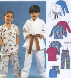 Top Shorts Pants Sewing Pattern Band Vary Elastic Easy 4103