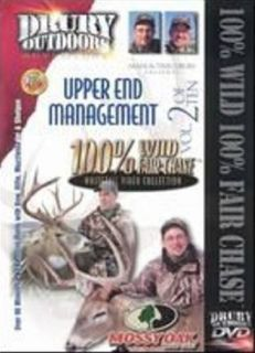 FAIR CHASE 2 ~ Upper End Management ~ Whitetail Deer Hunting DVD Drury