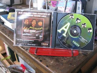 DRIZAY AND BIG DUNA ACES CD HARD CORE WEST COAST RAP AUTOGRAPHED