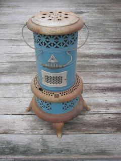 Vintage Blue Perfection Kerosene Oil Heater Patd 1913 No 630