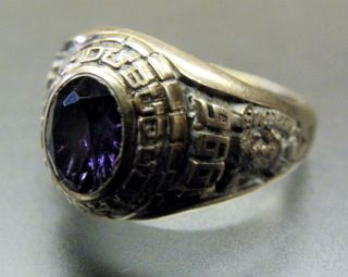 Sterling Silver Volleyball East Dubuque High Jaime Class Ring