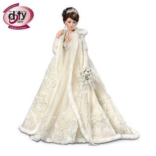 Cindy McClure Doty Ashton Drake Porcelain Bride Doll