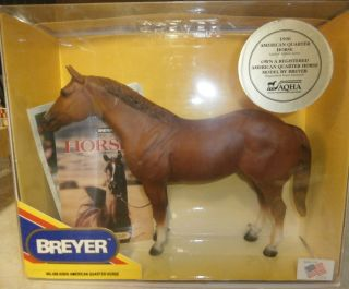 Breyer 498 AQHA American Quarter Horse Progeny of Leo Limited