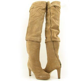 Kelsi Dagger Ebony Womens Sz 8 Brown Taupe Boots Fashion Thigh High