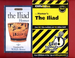 Homers Iliad Cliff Notes Study Guide Classic PBS