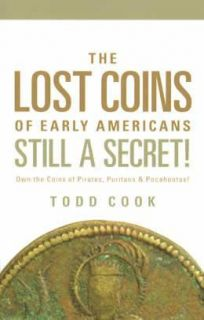Lost Coins Early Americans Book Colonial Pirate Indian