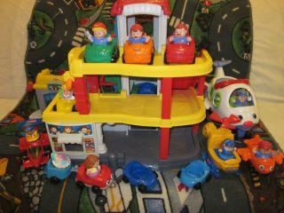 Fisher Price Little People Car Wash Garage