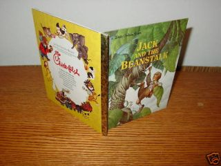 Little Golden Book Jack and The Beanstalk Chick Fil A