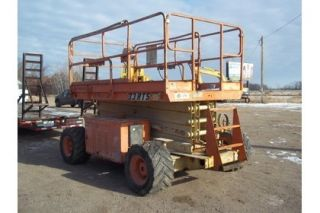 Lift 4x4 Dual Fuel LP or Gas Model 33 RTS Loader Manlift Bucket