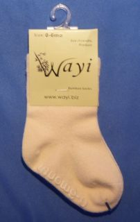 Lot 12 Pair Natural 0 6 Month Baby Bamboo Socks Soft Warm Eco Friendly