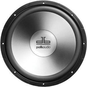 polk audio db1240dvc 12 inch dual voice coil subwoofer single black