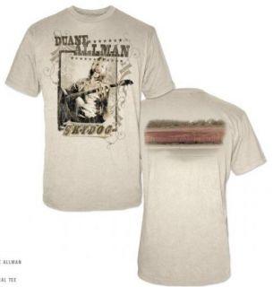 Duane Allman Sky Dog T Shirt New s M L XL Allman Brothers Official