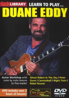 Learn to Play Duane Eddy Electric Guitar Lick Library DVD Brand New