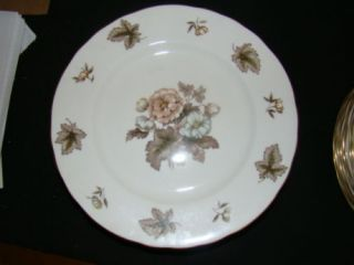 Royal Worcester Dorchester Chop Plate Excellent