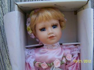 Duck House Heirloom Doll Porcelain Brand New in Box 14 in Ballerina