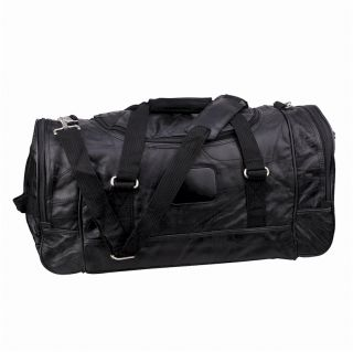 100 Genuine Leather Patched 21 Duffle Gym Bag Men Women Christmas