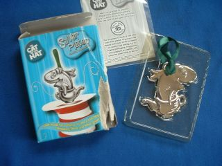 Dr. Seuss Cat in the Hat Christmas Ornament   Fish in a Dish