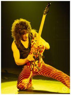 Eddie Van Halen Limited Edition Canvas Art 36 x 48