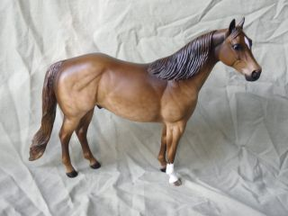 Peter Stone cm Custom Quarter Horse Dappled Chocolate Dun