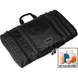 Pack It Flat Toiletry Kit Black