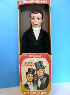 Vtg Edgar Bergens Charlie McCarthy 30 Ventriloquist Dummy Doll 1970