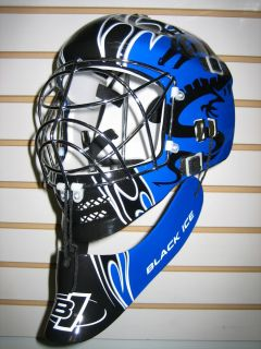 New Blue Dragon Pro Street Hockey Goalie Helmet Mask