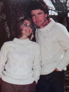 Classic Aran & Fishermen Knit Patterns Duffle Coat Dubliners