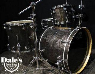 DW drums Performance Series drum sets 3p 22 12 16F Pewter Sparkle kit