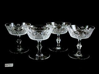 Waerford Crysal Dunmore Champagne Sherber Glasses