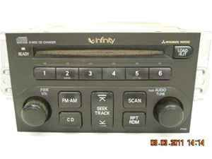 2000 Eclipse Infinity 6 CD Player Radio MR587252 OE LKQ