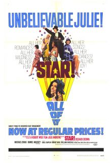 Star Movie Poster 27x41 Julie Andrews Musical 1968