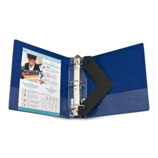 Business Source BSN 28661 Round Ring Binder 3 Capacity Dark Blue